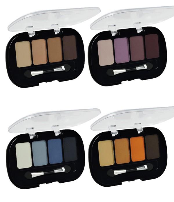 Kleancolor Eyeshadow Quad Matte