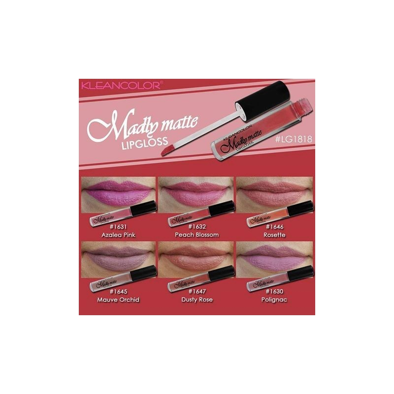 ... Kleancolor Madly Matte Lip Gloss