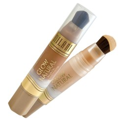 MILANI Glow Natural Brush-On Liquid Makeup - LIGHT TO MEDIUM